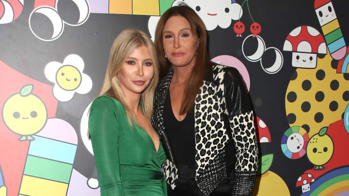 HOLLYWOOD, CALIFORNIA - NOVEMBER 07: Sophia Hutchins (L) and Caitlyn Jenner attend the alice + olivia by Stacey Bendet x FriendsWithYou Collection LA launch party at the Hollywood Athletic Club on November 07, 2019 in Hollywood, California. (Photo by David Livingston/Getty Images)