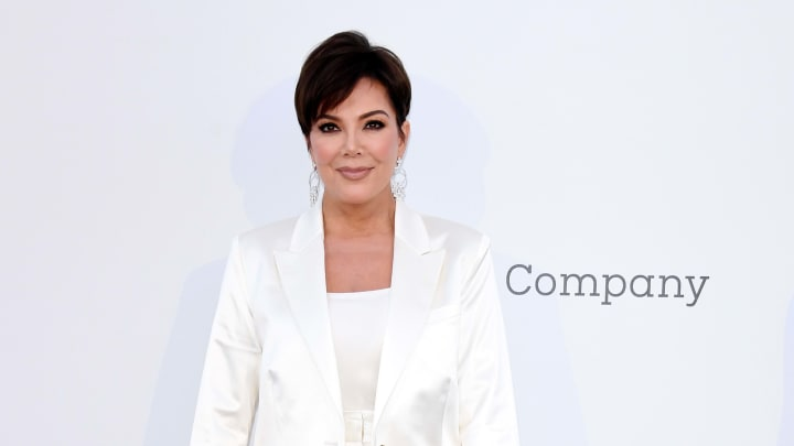 CAP D'ANTIBES, FRANCE - MAY 23: Kris Jenner attends the amfAR Cannes Gala 2019 at Hotel du Cap-Eden-Roc on May 23, 2019 in Cap d'Antibes, France. (Photo by Daniele Venturelli/Getty Images for amfAR)