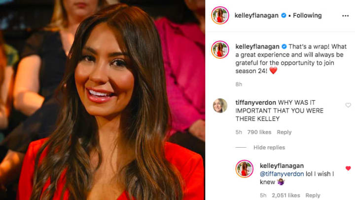 Kelley Flanagan doesn't know why she was invited to 'The Bachelor' Season 24 finale live show with Peter Weber