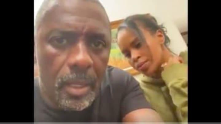 Idris Elba says he's tested positive for Coronavirus, has no symptoms.