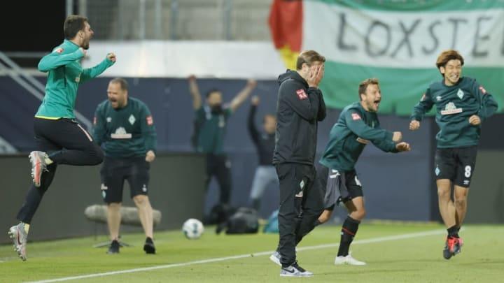 Ekstase pur: Werder im Relegationsrückspiel gegen Heidenheim