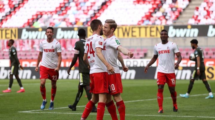 Der 1.FC Köln könnte vorzeitig in die 2.Liga absteigen. Gegen die Hertha muss für die Geißböcke dringend ein Punktgewinn her.
