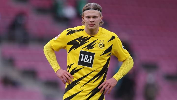 Erling Haaland Borussia Dortmund Manchester United