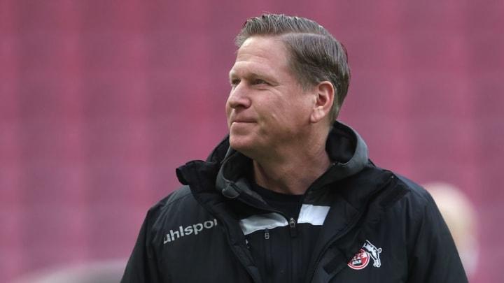 Markus Gisdol muss erneut beweisen, dass er Köln-Trainer bleiben kann