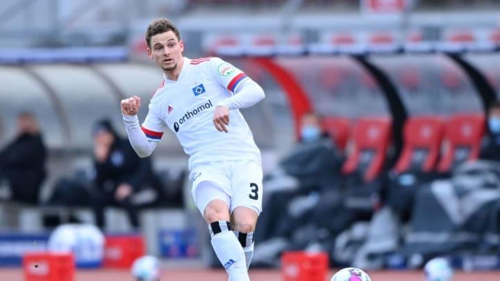 Folgte seinem Coach - mit ein paar Wochen Verspätung - nach Hamburg: Ex-VfL-Spieler Moritz Heyer