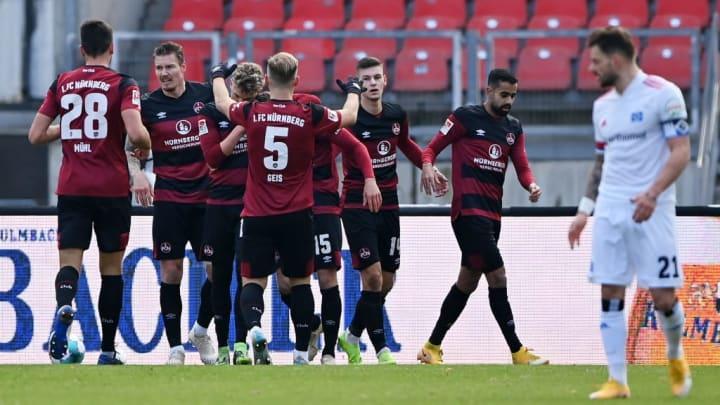 taktisch starke Nürnberger stellten den HSV vor Probleme