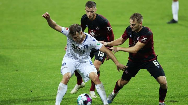 1. FC Nürnberg v Karlsruher SC