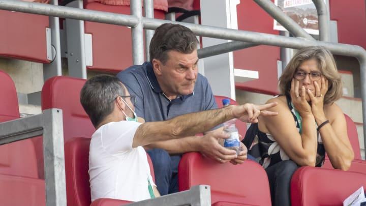 Glaubt an seinen Ex-Klub: Dieter Hecking