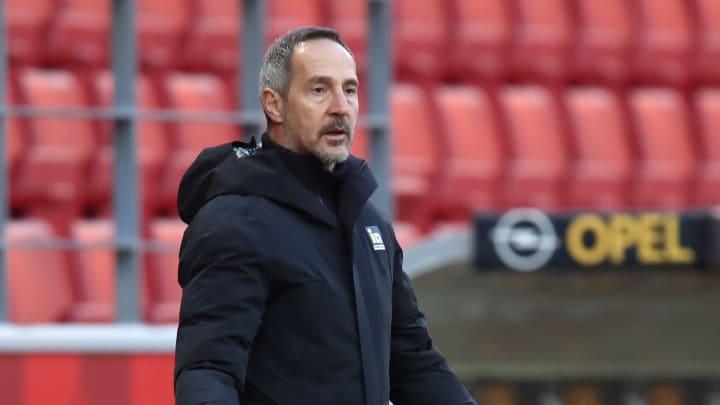 Adi Hütter verlässt die Eintracht trotz Treuebekenntnis