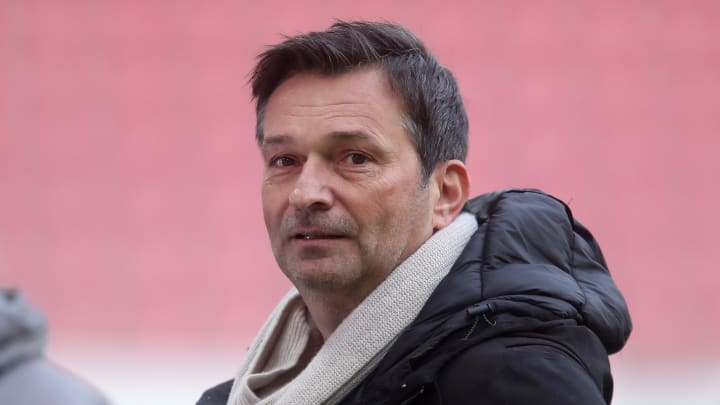 Christian Heidel ist bei Mainz guter und optimistischer Dinge