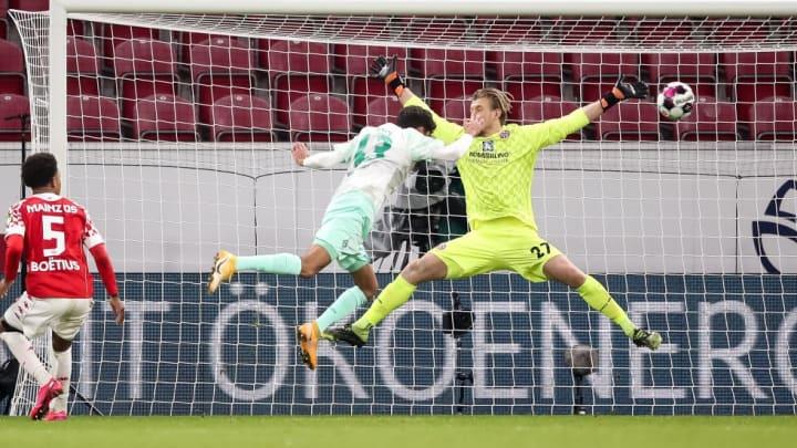 Gegen Mainz 05 wurde Dinkci zum Held der Bremer