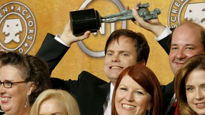 Rainn Wilson and the cast of The Office.