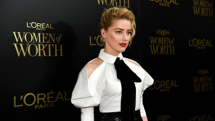 Amber Heard at the 14th Annual L'Oréal Paris Women Of Worth Awards