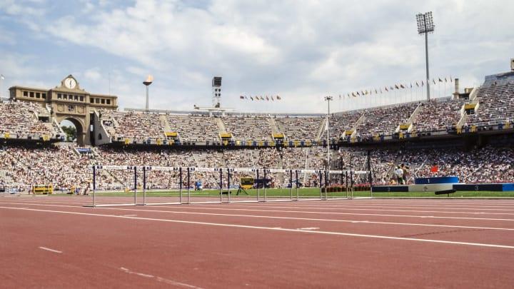 El estadio de Montjuic vivió grandes noches pero hoy está en desuso