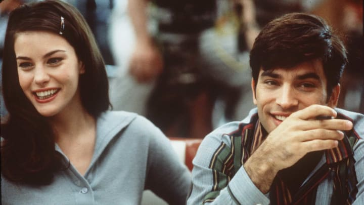 "1996 Liv Tyler and Johnathon Schaech star in the new movie ""That Thing You Do""."