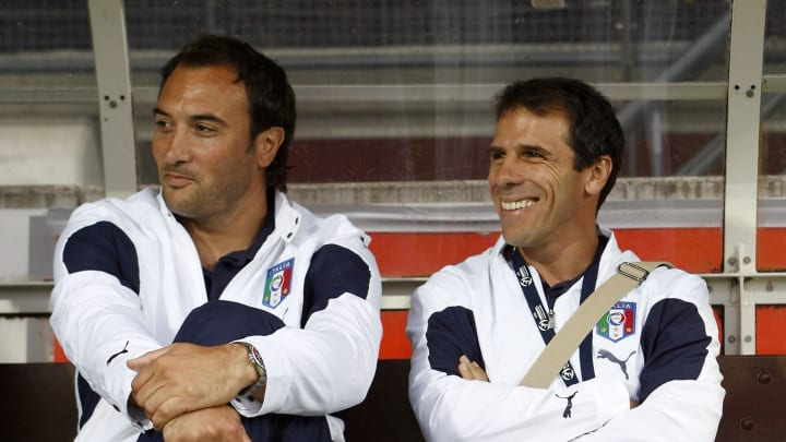 He went on to assist ex team mate Zola with the Italian U21 side in 2006.