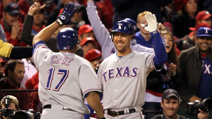 Nelson Cruz helped lead the Texas Rangers to two World Series.