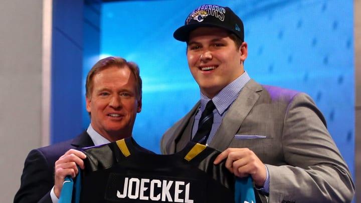 Luke Joeckel was the second pick in the 2013 NFL Draft.