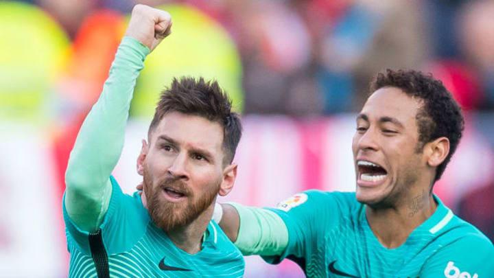 Lionel Andres Messi, Neymar da Silva Santos Junior