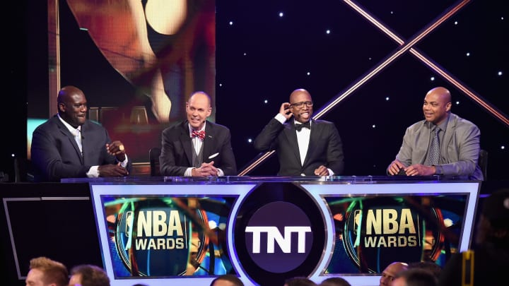 The Inside the NBA crew.