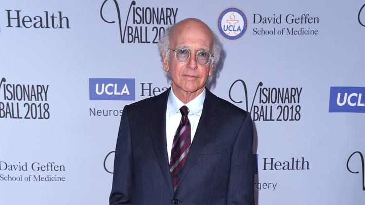 Larry David at the 2018 Visionary Ball Benefiting The UCLA Department Of Neurosurgery