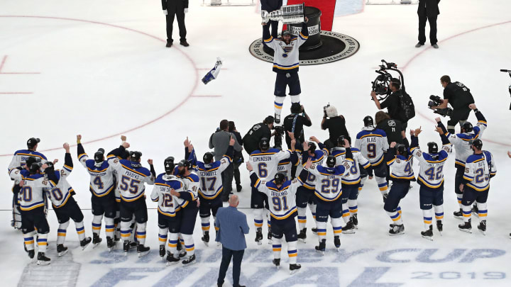 5 Blues Stanley Cup Champions Who Won T Be On The Team Next Season