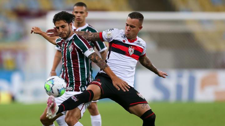 Atlético-GO tem boas lembranças contra o Fluminense