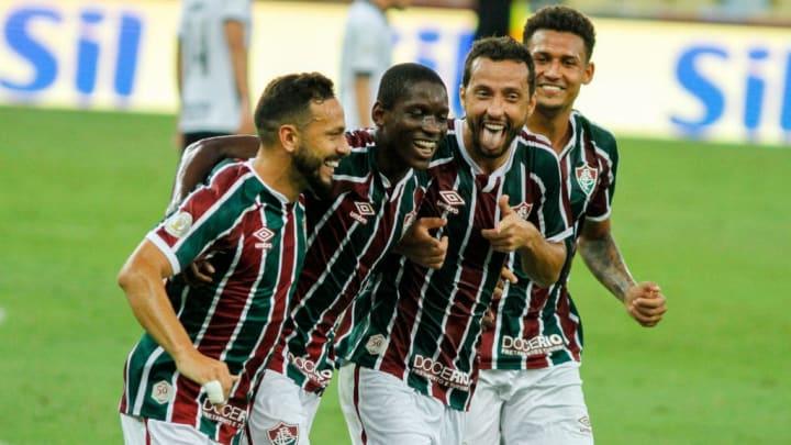 2020 Brasileirao Series A:  Fluminense v Corinthians Play Behind Closed Doors Amidst the Coronavirus
