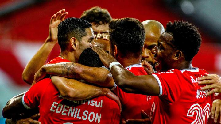 2020 Brasileirao Series A:  Internacional v Palmeiras Play Behind Closed Doors Amidst the
