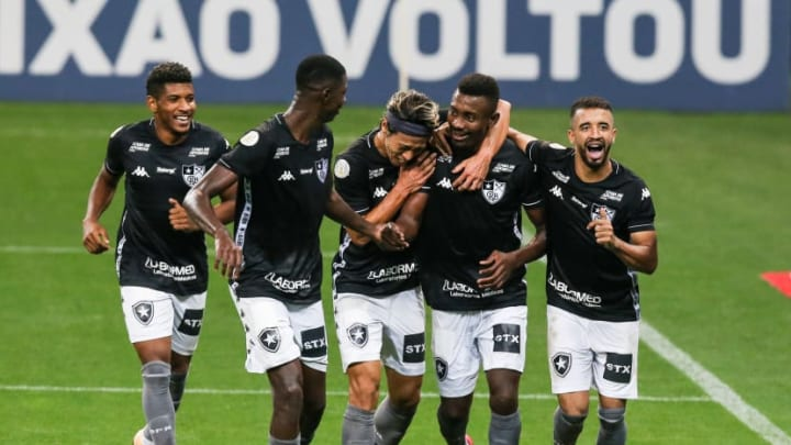2020 Brasileirao Series A: Corinthians v Botafogo Play Behind Closed Doors Amidst the Coronavirus