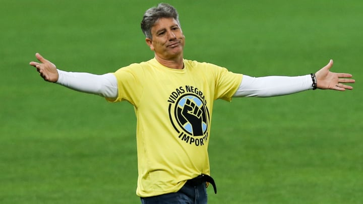 Renato Gaúcho brilhou no Grêmio na década de 80 e voltou nos anos 90