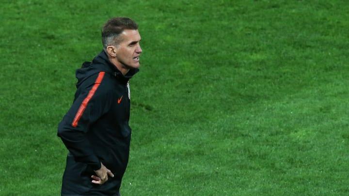 2020 Brasileirao Series A: Corinthians v Internacional Play Behind Closed Doors Amidst the