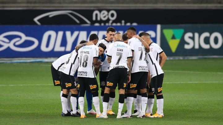 2020 Brasileirao Series A: Corinthians v Santos Play Behind Closed Doors Amidst the Coronavirus (COVID - 19) Pandemic