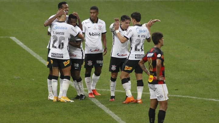 2020 Brasileirao Series A: Corinthians v Sport Recife Play Behind Closed Doors Amidst the