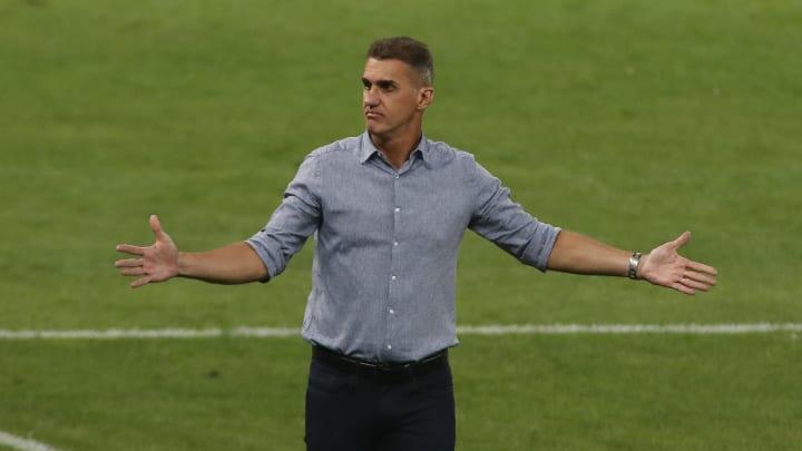Vagner Mancini diz que Otero, Jemerson e Cazares ficaram como opção na vitória contra o Guarani por questões técnicas.