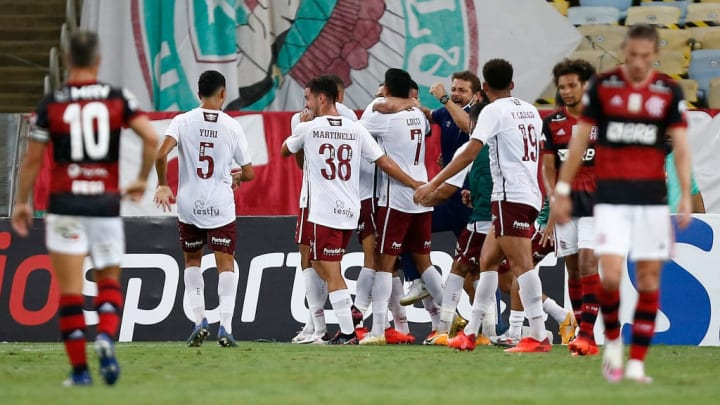 2020 Brasileirao Series A: Flamengo v Fluminense Play Behind Closed Doors Amidst the Coronavirus (COVID-19) Pandemic