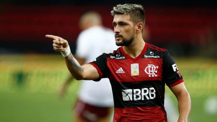 Giorgian de Arrascaeta Flamengo Copa Brasil