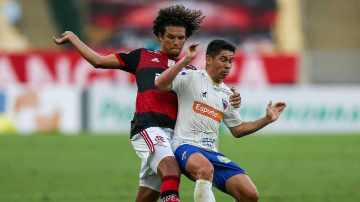 Flamengo e Fortaleza se enfrentam no Maracanã