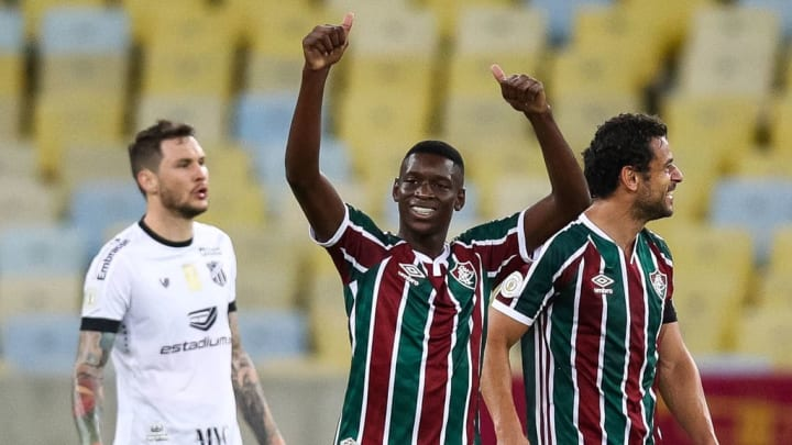 2020 Brasileirao Series A: Fluminense v Ceara Play Behind Closed Doors Amidst the Coronavirus (COVID