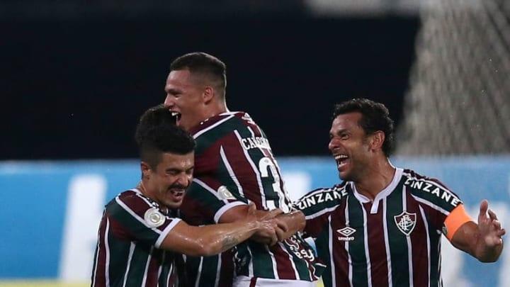 2020 Brasileirao Series A: Fluminense v Goias Play Behind Closed Doors Amidst the Coronavirus