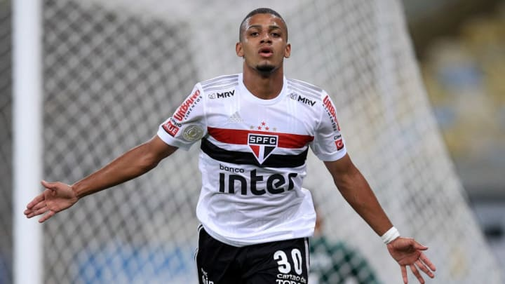 Brenner compte 17 buts avec le Sao Paulo FC, son club formateur