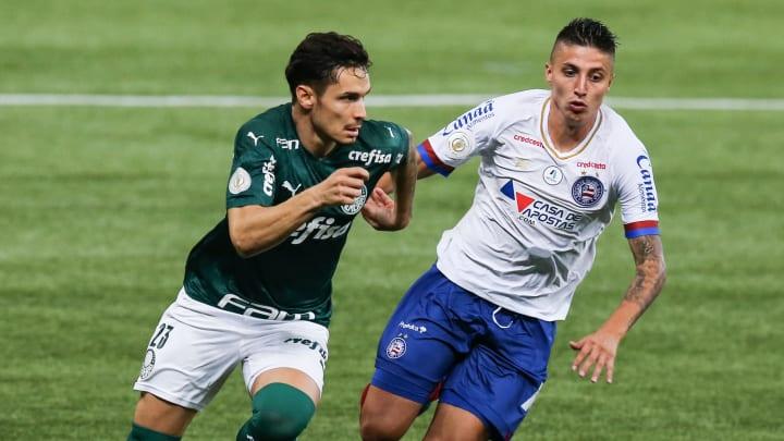 Palmeiras e Bahia se enfrentam no Allianz Parque