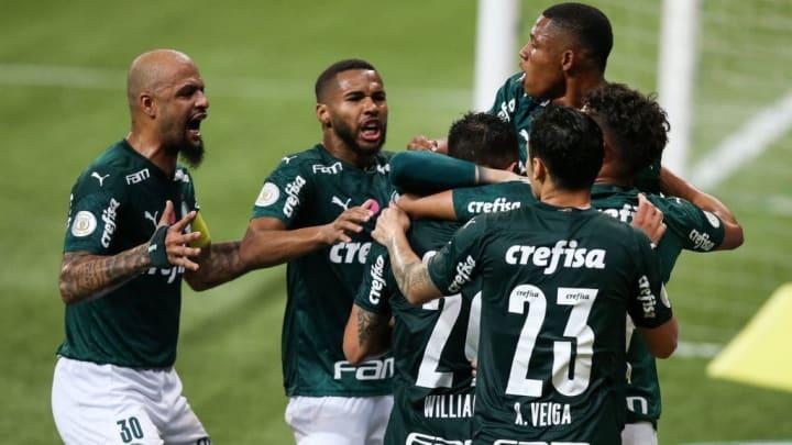 2020 Brasileirao Series A: Palmeiras v Ceara Play Behind Closed Doors Amidst the Coronavirus (COVID - 19) Pandemic