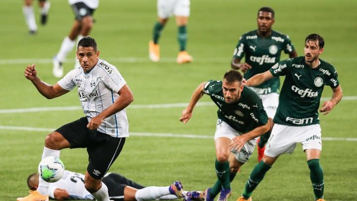 XI ideal combinado entre Grêmio e Palmeiras, com base nas prováveis escalações