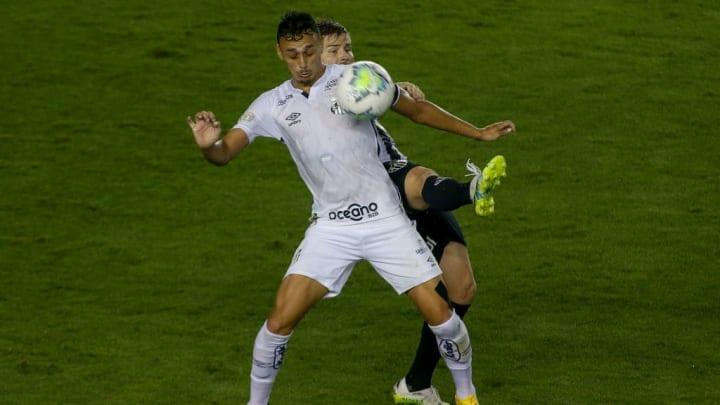 2020 Brasileirao Series A: Santos v Atletico MG Play Behind Closed Doors Amidst the Coronavirus