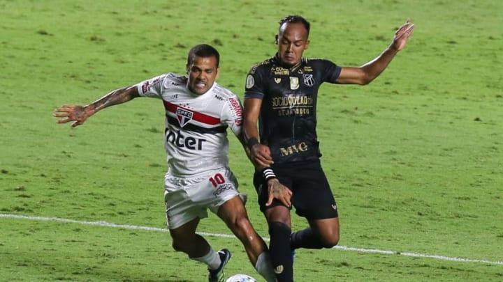 Bruno Pacheco Dani Alves Ceará Bahia Copa do Nordeste