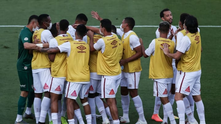2020 Brasileirao Series A: Sao Paulo v Fluminense Play Behind Closed Doors Amidst the Coronavirus (COVID - 19) Pandemic