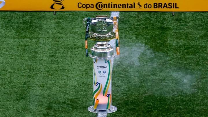copa do brasil trofeu santos cianorte