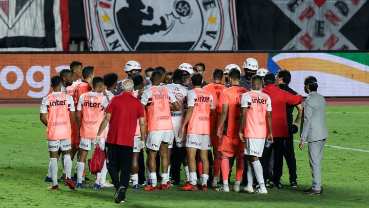 2020 Copa do Brasil Semi Final 2: Sao Paulo v Gremio Play Behind Closed Doors Amidst the Coronavirus