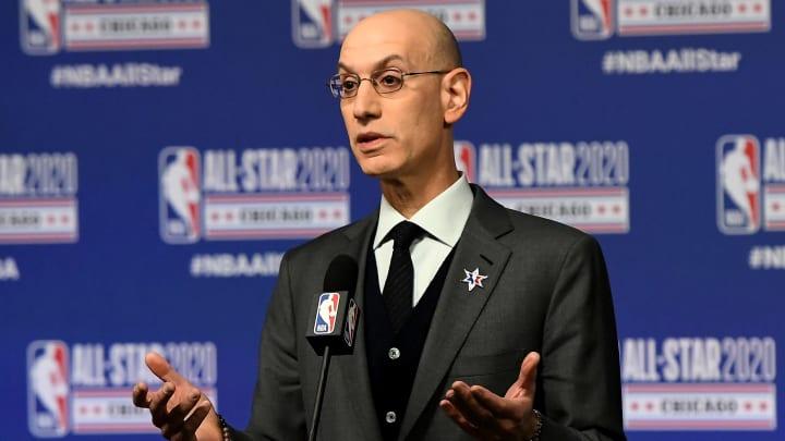 Silver ha manejado con cautela la crisis sanitaria actual y el futuro de la NBA
